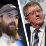 'He's dreaming': Mike Cannon-Brookes and coal baron Trevor St Baker clash over renewables