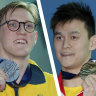 Pool won't sport Mack Horton's name to protect interests in China