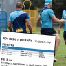 Revealed: The Waratahs' 16-hour day for Super Rugby AU opener