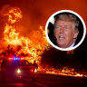 Trump breaks silence on devastating wildfires, blaming them on bad forest management