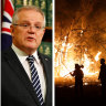 'Deeply troubling and unsettling': Prime Minister urges calm over bushfires