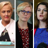 Female politicians reach out across party lines for support