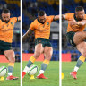 Rugby Championship 2021 as it happened: Cooper kicks Wallabies to shock win after final siren