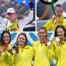 Australia eyes Athens gold haul mark with record 14 won, four to go