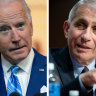 President-elect Joe Biden says he will keep Dr Anthony Fauci on