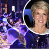 A ticket to Sydney's most exclusive dinner: $1500. A dinner date with Julie Bishop: priceless