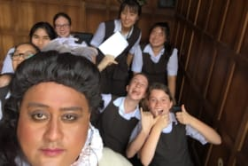 All the world's a stage as the kids fall in love with Shakespeare