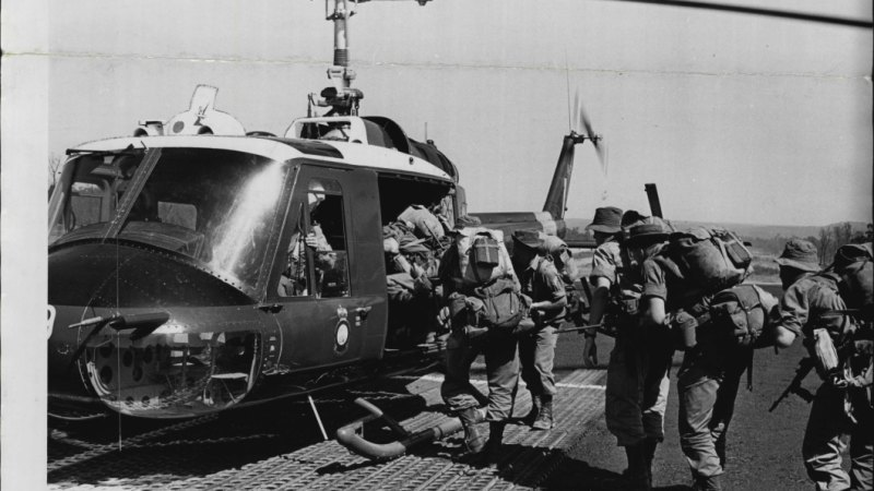 From the Archives: Australian troops for Vietnam