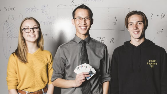 'He Woo-ed us': Rockstar maths teacher makes magic in Canberra schools