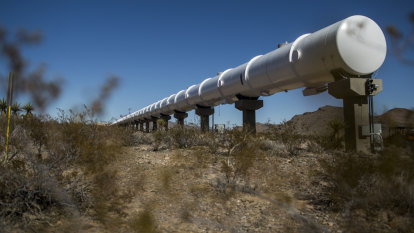 'Your coffee won't even slide': The high-speed trains being tested in the desert