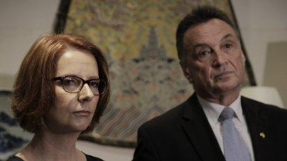 'No progress since Gillard': Craig Emerson slams sexist abuse of Kelly O'Dwyer