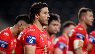 Ben Hunt is expected to move back to the halves next year.