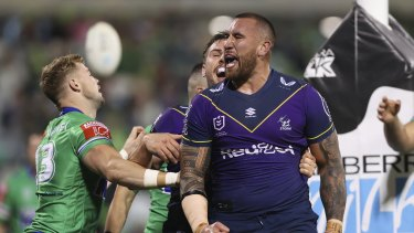 Nelson Asofa-Solomona is a rare breed in the NRL.