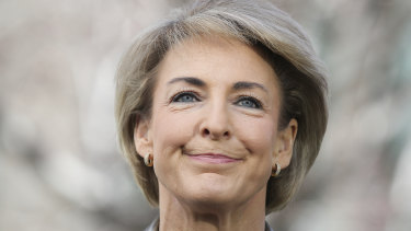 Michaelia Cash has been appointed as small business minister.