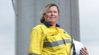 Lisa Arthur says she has not been held back from making progress in a male-dominated industry.