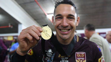 Billy Slater could soon be coaching the Maroons.