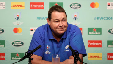 All Blacks coach Steve Hansen is odds-on to be looking this smug for the next week at least.
