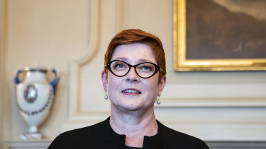 Australia's Foreign Minister Marise Payne will travel to Tokyo next week.