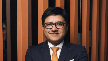 "ING chief Uday Sareen says the bank is the ""lead challenger"" to the big four in Australia."