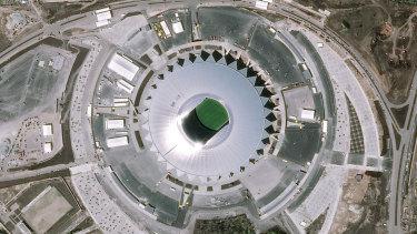 Out of this world: Samara Stadium, Russia.