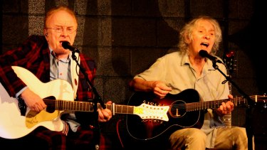 Peter Asher and Albert Lee perform in Australia in August.