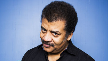 Astrophysicist and science communicator Neil deGrasse Tyson on tour in Australia last year.