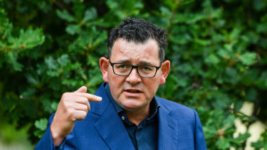 Daniel Andrews says players are free to make demands about changes to quarantine - and the answer is no.