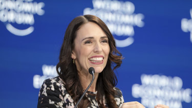 New Zealand Prime Minister Jacinda Ardern announced the plan at the World Economic Forum in Davos, Switzerland.