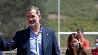 King Felipe VI stripped his father Juan Carlos of his stipend.