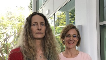 Tenants Queensland's Penny Carr (left) and QCOSS chief executive Aimee McVeigh say Queensland's decision to end a rental eviction moratorium is short-sighted.