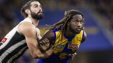 The Eagles are desperate to get Nic Naitanui back in time for the Bombers final.