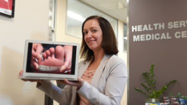 """QUT's Dr Kara Burns has published new research showing patients feel more engaged with their care if they take """"medical selfies""""."""