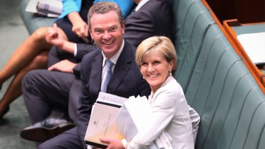 Former ministers Christopher Pyne and Julie Bishop both appeared before a senate inquiry regarding their post-parliamentary jobs on Thursday.