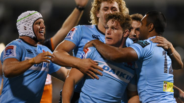 Michael Hooper was a leader on and off NSW in a difficult season.