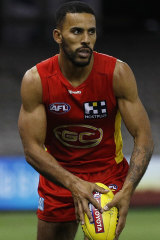 Touk Miller was named to the All-Australian team for the first time.