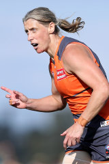 Cora Staunton starred for the Giants against Richmond.