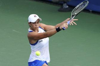 Barty next faces former world No.1 Victoria Azarenka.