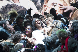 A scene from Jesus Christ Superstar at O2 theatre, 2012. Entertainment venues are currently capped at 50 per cent capacity.