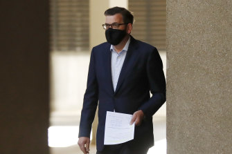 No changes: Daniel Andrews was unable to announce an easing of restrictions on Sunday.