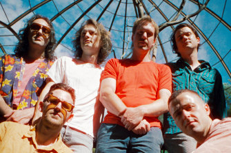 Melbourne band King Gizzard and the Lizard Wizard.