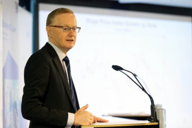 Warning: Reserve Bank Governor Phillip Lowe.
