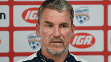 Switch to rivals: Marco Kurz signs for Melbourne Victory