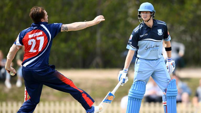 Boon for suburban cricket: Steve Smith's return was welcomed by the local faithful.