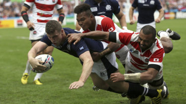 Scotland and Japan going head-to-head in the 2015 World Cup.
