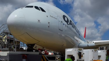 Qantas said it expected to make up for the higher fuel costs in the second half.