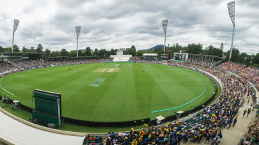 Manuka Oval was heaving during Canberra's historic first Test match last week.