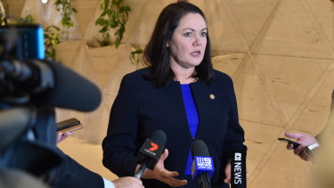 Opposition leader Liza Harvey will take the Roe 8 and 9 road projects to the next election.