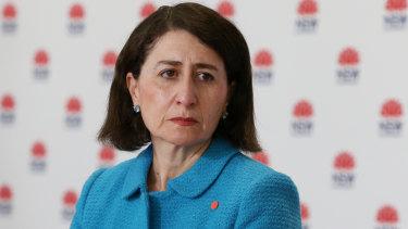 Premier Gladys Berejiklian.