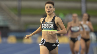 National title has rising star Bisset dreaming of Tokyo