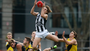 Chris Mayne didn't let almost a full season in the VFL dent his hunger.